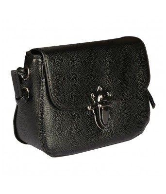 Caterfly  Womens Stylish PU Leather Black Color Hand Held Clutch Bag Purse