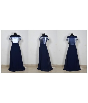Cloud999 Avni Blue Gown