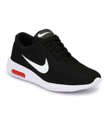 ISmart Sneakers Black Color Sports Shoes Daily Wear