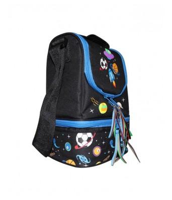 Smily Kiddos | Smily Strap Lunch Bag(BlackColor) | Lunch Box