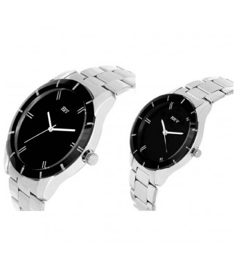 5020-BK Modish Watch Couple Mens and Womens watch