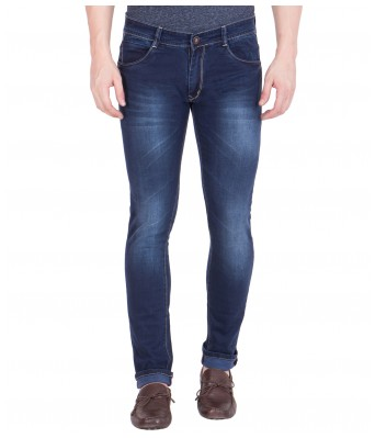 Spanish Mens Blue Slim Fit Stretchable Jeans