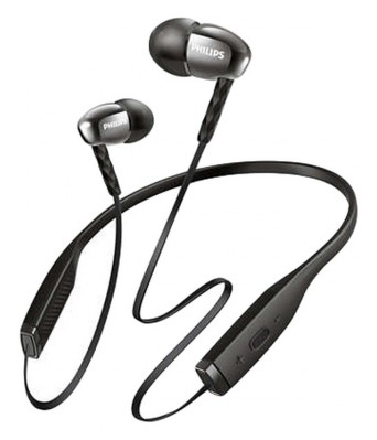 Philips SHB5950BK/00 In Ear Wireless Earphones With Mic Black