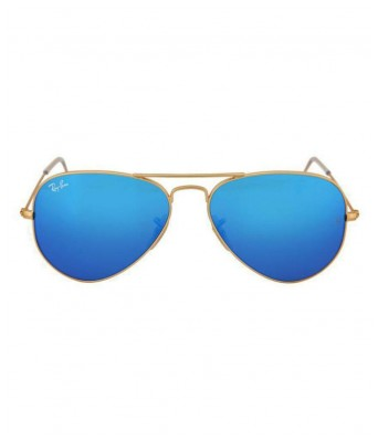stylish new blue gold women sunglasses