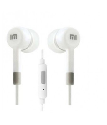 Queer Premium Compatible Certified Stereo Super Bass Earphone For MI 2 Hands-Free With Mic On/Off switch Volume Controller & 3.5Mm Jack For All Smart Phone (White) by Queer