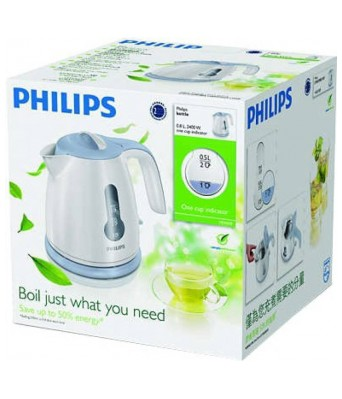 Philips hd 4608/70 je Electric Kettle  (.8 L  Blue  White)