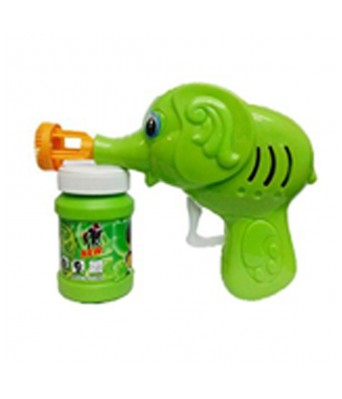 Green Toon Hand Pressing Bubble Making Toy Gun for Kids || High Quality Ben 10 Bubble Toy Gun