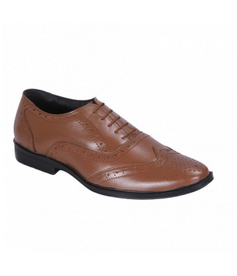100% Genuine Quality Tan Leather Shoes for Men