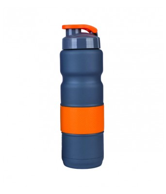 H2GO-Omada Orange Vacuum Stainless Steel Sipper Bottle 450 ML