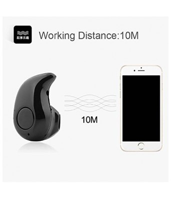 Sasta Bazar Mini Bluetooth Headset BM-530 Universal Wireless Bluetooth 4.0 Sport Earphone Compatible for All Mobile Phones single Piece