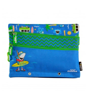 Fancy a5 pencil case  (Blue)