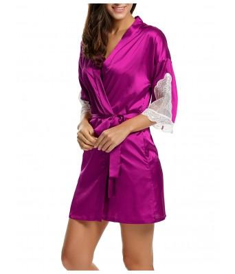 Womens Sation Night Robe