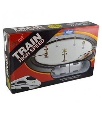 Bingo Gift Gallery Presents High Speed Battery Operated Train Set for Kids (Small Metro)
