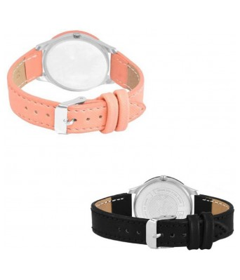 New Fashion Lifestyle Queen Analog Watch Sett Of Two For Girls and Women 022 Watch