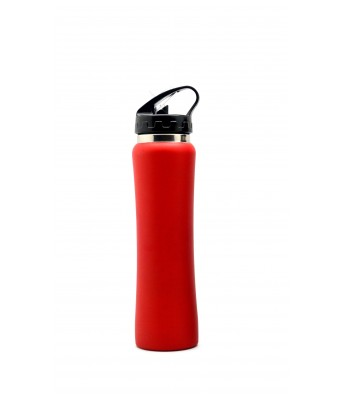 H2GO Omada Stainless Steel Sipper - Red