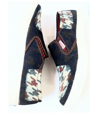 Italian jeans sneakers