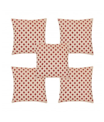 Ansh Fashion Wear Decorative Cushion Cover Pack of 5 For Home Decor