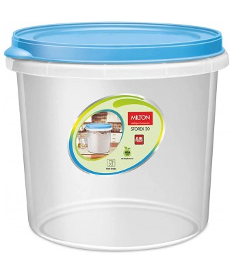 MILTON Plastic Container - 20L, 1 Piece, Transparent