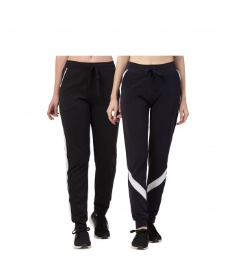 Women's Solid Track Pant |women's Polyster Track Pants,Joggers, Gym, Active WearLower, Yoga (Pack of 2)