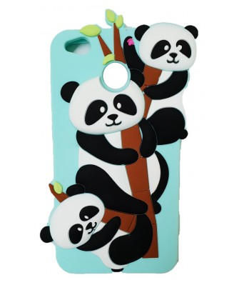 NIK TECH ONLINE  Cute Panda Soft Silicone Mobile Phone Covers & Cases For Xiaomi Mi 4