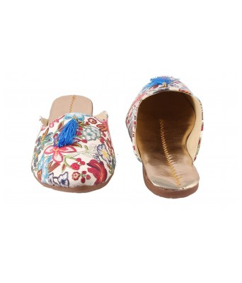 AMAZING TRADERS Multicolor Synthetic Leather Slipper For Womens,Girls (Sky Color)