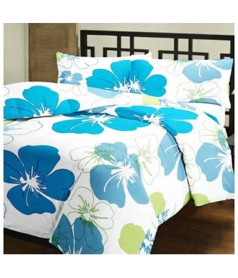 V Brown Cotton Single Bed Dohar/Blanket /AC Quilt