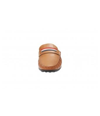 Boggy Confort Stylish Tan Color Slip on Jutte Loafers for Mens & Boys