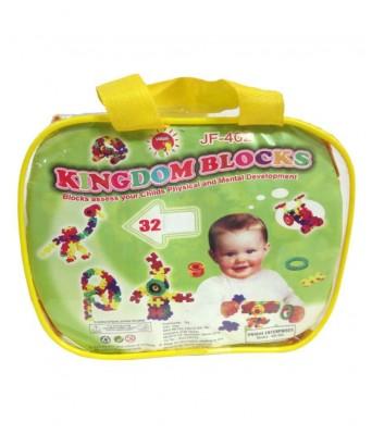 Kingdom Blocks Set  Multi Color  (32 Pieces)