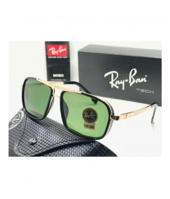 crazy green golden men cap sunglasses