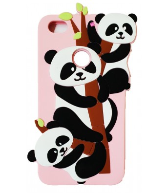 NIK TECH ONLINE  Cute Panda Soft Silicone Mobile Phone Covers & Cases For Xiaomi Redmi Y1