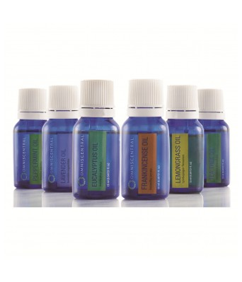 Omniscentral Aromatherapy Top 6 Certfied Organic Essential Oils 100% Pure Natural & Therapeutic grade Basic Gift Set & Premium Kit 6/15 ML