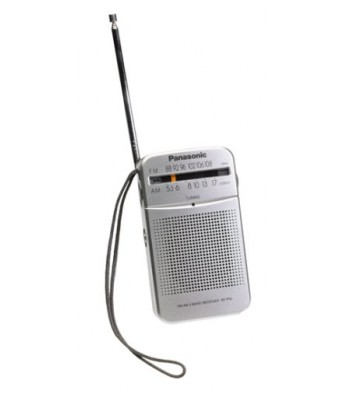 Panasonic RF-P50 Pocket AM/FM Radio Silver