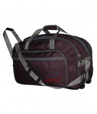 SPYKI 24 Inch Travel Duffle Strolly Wheel Travel Bag