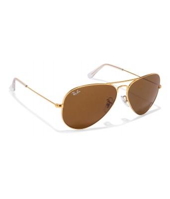 crazy men aviator brown frame sunglasses