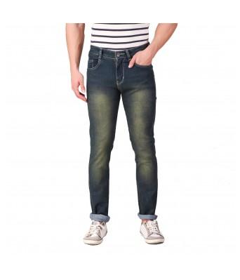 Rock Hudson Mens Regular Fit Denim Strechable Round Pocket Light Faded Black Jeans