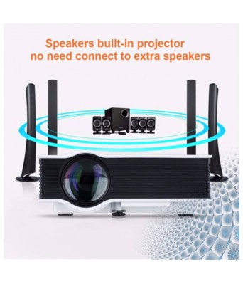 VIZIO UC-40 HD LED Projector with 1000lm ( 1980P*1080 )