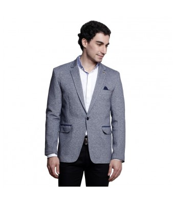 MSG Blue Solid Party Blazers