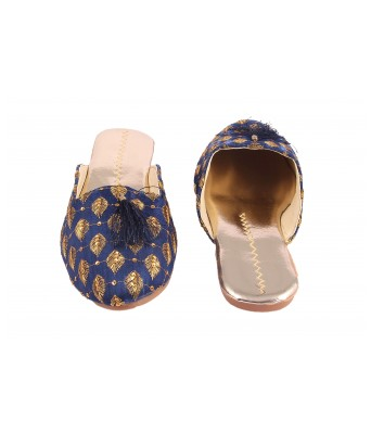 AMAZING TRADERS Canvas Slipper For Women`s/Girl`s (Blue Color)