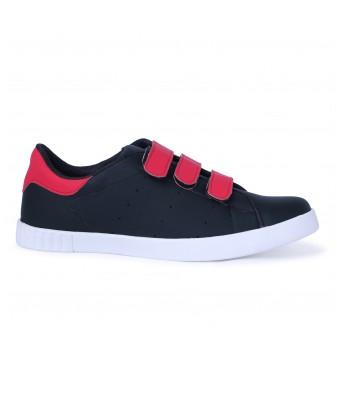 Scootmart Black Velcro Shoes