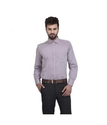 MSG Peach Casuals Regular Fit Shirt