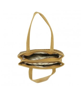Caterfly Womens Stylish PU Leather Beige Color Adjustable Strap Hand Held Tote & Sling Bag   Shoulder Bag