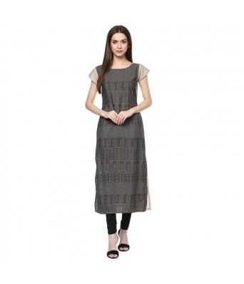 PS Enterprise American Crepe Kurtis