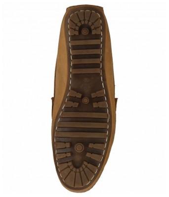 Boggy Confort Camel Genuine Leather Loafers for Mens & Boys
