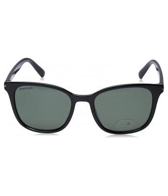 Fastrack UV Protected Square Men's Sunglasses - (P418GR1|53|Green Color Lens)