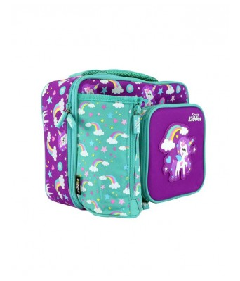 Smily Kiddos | Smily Multi Compartment Lunch Bag(PinkColor) | Lunch Box