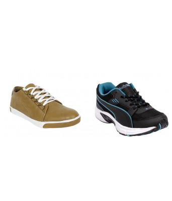 Yellow Tree Combo of 1 casual & 1 Sports Shoes4