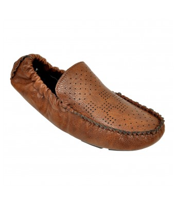Altek Smoothy Designer Elastic Brown Loafer