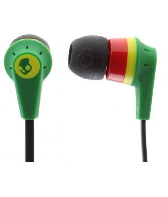 Skullcandy S2IKDZ-058 Ink'd 2 In-Ear Headphone (Rasta)