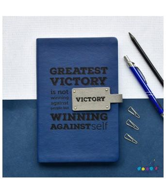 Doodle Win Win  A5 Softbound Executive Notebook