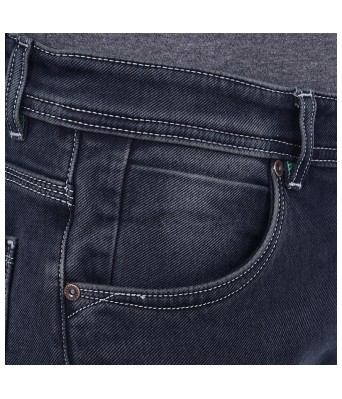 Yellow Tree Benetton Denim Jeans Black Color For Mens
